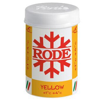 RODE Festevoks Gul +1/+4 klistervoks skismøring