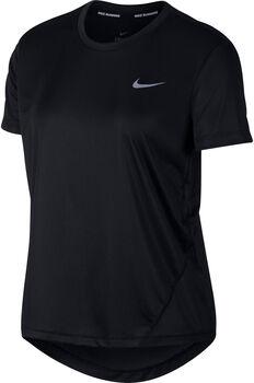 Nike Miler teknisk t-skjorte dame Svart