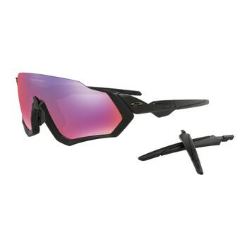 Oakley Flight Jacket Prizm™ Road - Matte Black sportsbriller Herre Svart