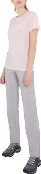 McKINLEY Toggo SSL t-skjorte dame Rosa