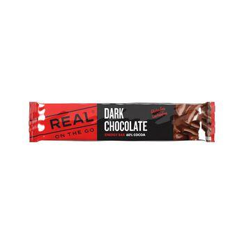 REAL turmat OTG sjokolade energibar 25 gram Flerfarvet