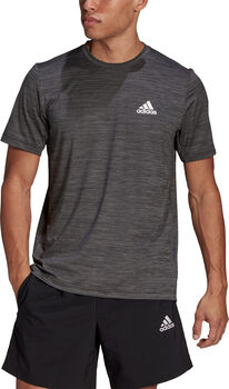 adidas Aeroready Designed To Move Sport Stretch t-skjorte herre Svart