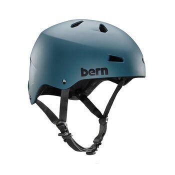 Bern Macon Team sykkelhjelm Herre Blå