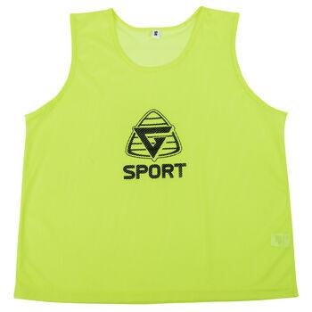 SportX  Markeringsvest standard Herre Gul