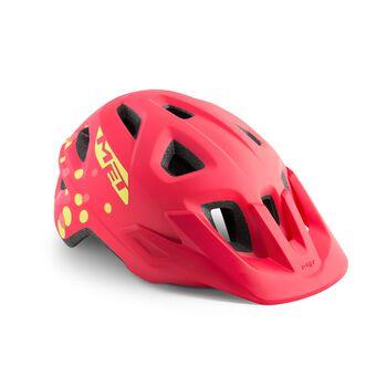 MET Eldar sykkelhjelm junior Rosa