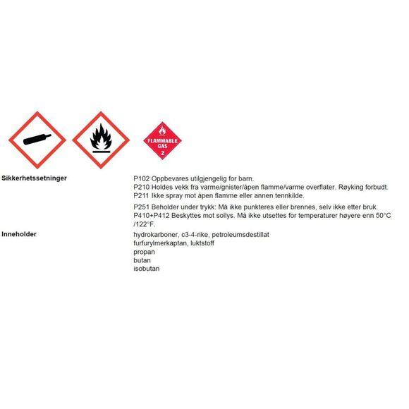 Isopro Canister- Europe 227G gassboks