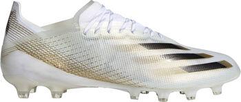 adidas X Ghosted.1 Artificial Grass Fotballsko kunstgress Herre Hvit