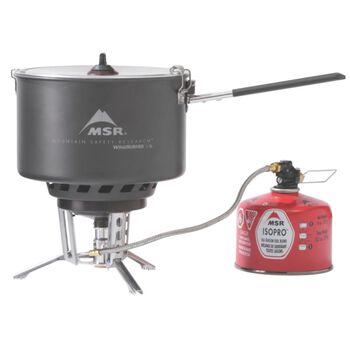 MSR Windburner Group System koker og brenner Svart