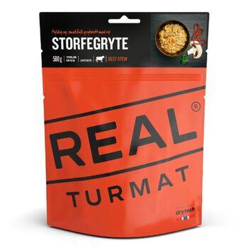 REAL turmat Storfegryte 500 gram Oransje