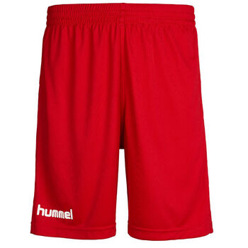 Hummel Core Poly Shorts Junior Rød