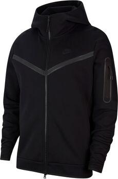 Nike Sportswear Tech Fleece hettejakke herre Svart