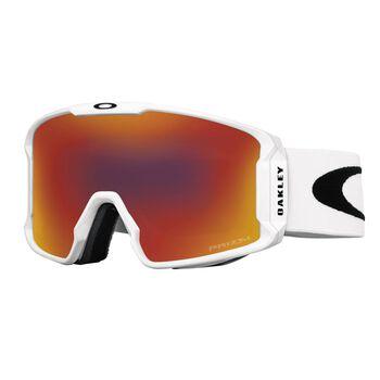 Oakley Line Miner XM Prizm™ Torch - Matte White alpinbriller Herre Rød
