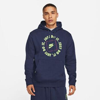 Nike Sportswear JDI hettegenser herre Blå