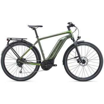 Giant Explore E+ 3 GTS el-sykkel Grønn