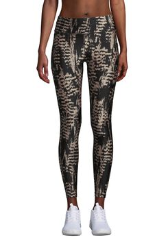Casall Iconic Printed 7/8 tights dame Grå