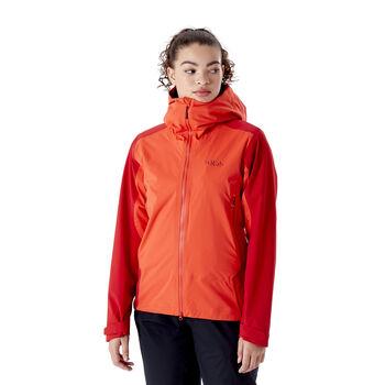 Rab Kinetic Alpine 2.0 skalljakke dame Rød