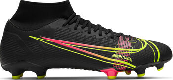 Nike Mercurial Superfly 8 Academy fotballsko kunstgress/gress Svart