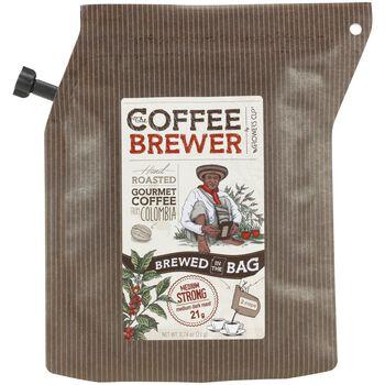 Growers Cup Colombia Kaffe, 2 Cup kaffebrygger Herre Brun