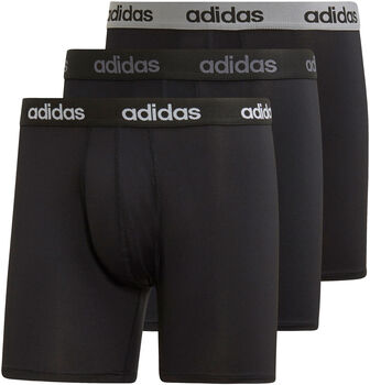 adidas CC bokser svart 3-pk herre