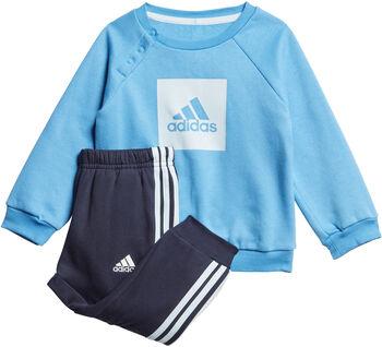 adidas 3-Stripes joggedress barn Jente Blå