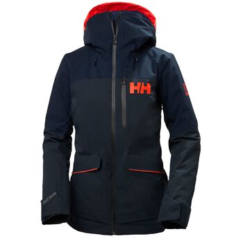 Helly Hansen Powchaser Lifaloft vattert jakke dame Svart