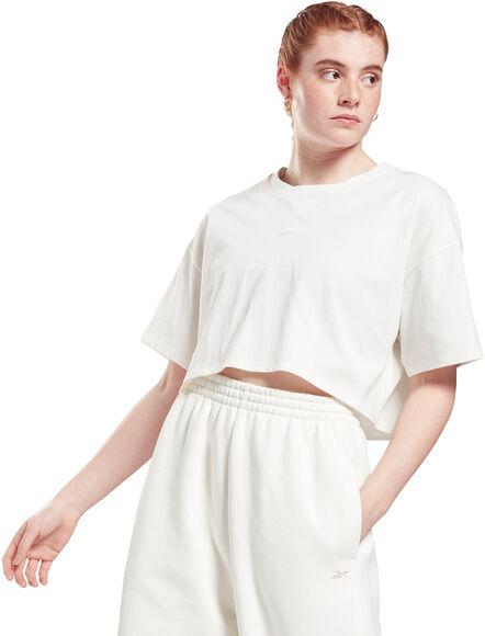 Studio Cropped t-skjorte dame