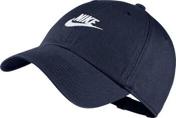 Nike Heritage86 Futura Washed caps Blå