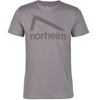 Norheim Granitt Logo t-skjorte herre Grå