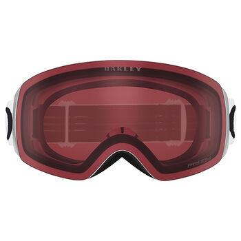 Oakley Flight Deck XM Prizm™ Hi Pink Iridium - Matte White alpinbriller Herre Hvit
