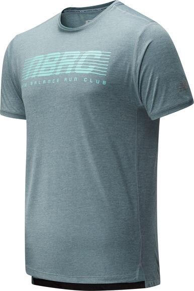 Printet Impact Run teknisk t-skjorte herre