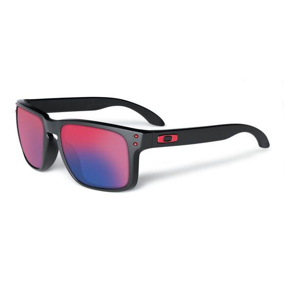 Holbrook Red Iridium - Matte Black solbrille