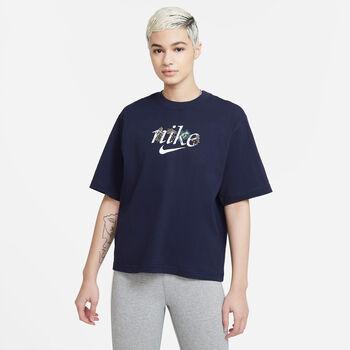 Nike Sportswear t-skjorte dame Blå