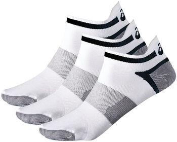 ASICS Lyte 3-pk teknisk sokk Hvit