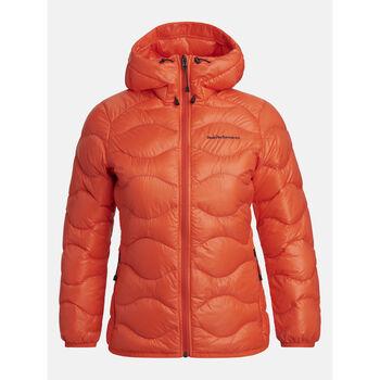 Peak Performance Helium Hood dunjakke dame Oransje