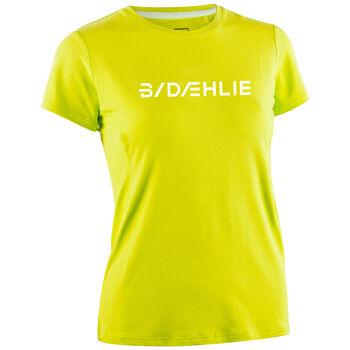 DÆHLIE Focus teknisk t-skjorte dame Herre Gul