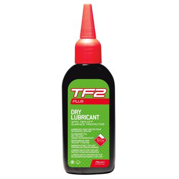 Weldtite Teflon Dry Plus+ sykkelolje 75 ml Grønn