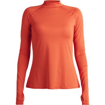 Röhnisch High Collar teknisk genser Dame Oransje