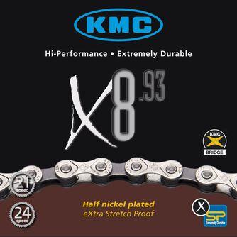 X8 6/7/8-delt sykkelkjede