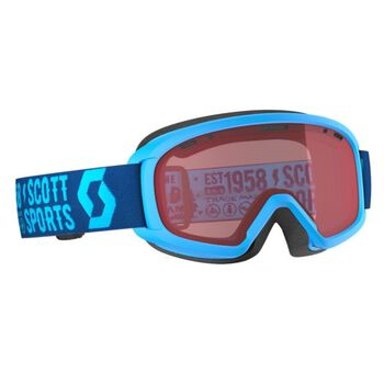 SCOTT Alpinbrille JR Witty Amplifier Blå