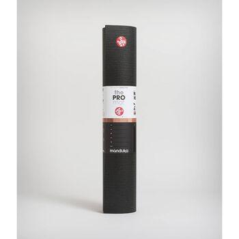 Manduka PRO™ 71 Mat 6mm yogamatte Herre Svart