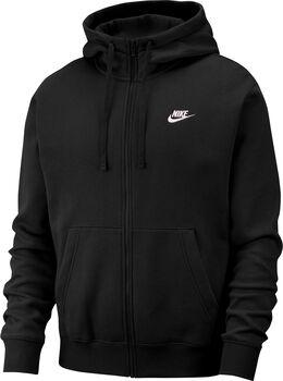 Nike Sportswear Club Fleece hettejakke herre Svart