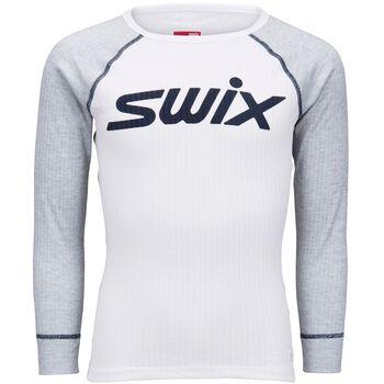 Swix RaceX Body superundertøyoverdel junior Hvit