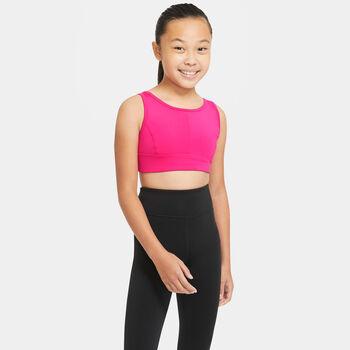 Nike Swoosh Luxe sports-BH junior Jente Rosa