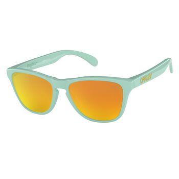 Oakley Frogskins XS Fire Iridium - Arctic Surf solbriller Herre Grønn