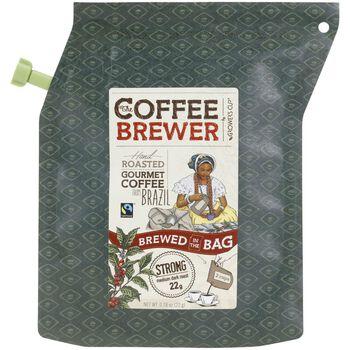 Growers Cup Brazil Kaffe, 2 Cup Kaffebrygger Brun