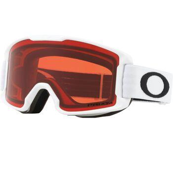 Oakley Line Miner Youth Prizm™ Rose - Matte White alpinbriller junior Hvit