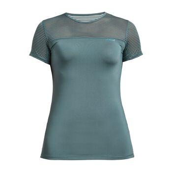 Röhnisch Miko teknisk t-skjorte dame Blå