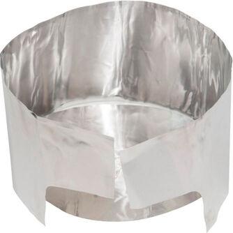 Varmereflektor med vindbeskyttelse