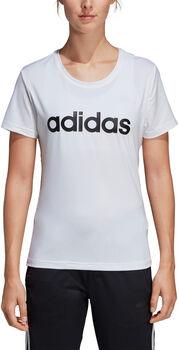 ADIDAS D2M LO t-skjorte dame Hvit