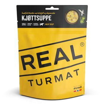 REAL turmat Kjøttsuppe 500 gram Gul